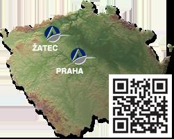 Provozovna Žatec, sídlo Praha